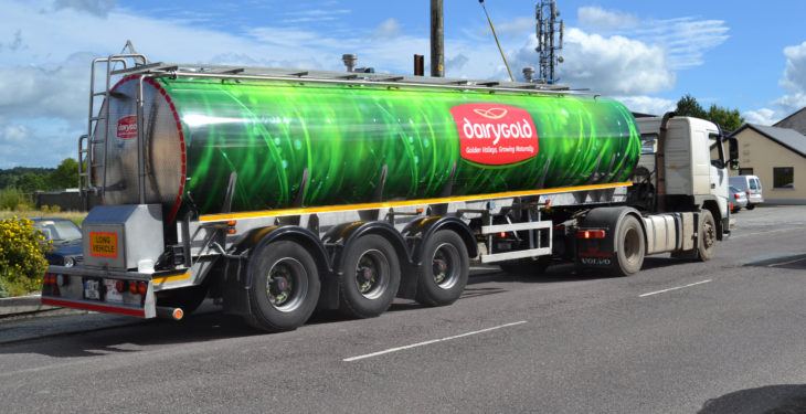 Dairygold announces milk price for August