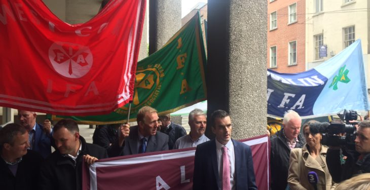 IFA to protest farmer loan sale outside AIB AGM