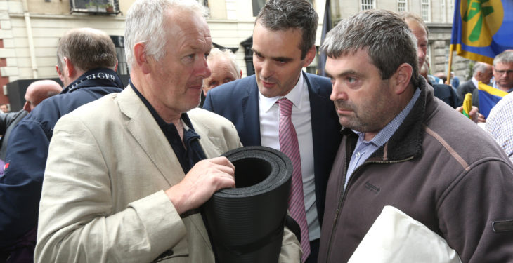 Minister Creed welcomes decision to suspend IFA protest