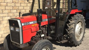 Auction: Is this classy Massey, in like-new condition, worth £18,000?