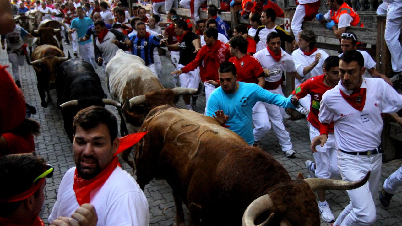 Irish man reportedly injured in Pamplona bull run