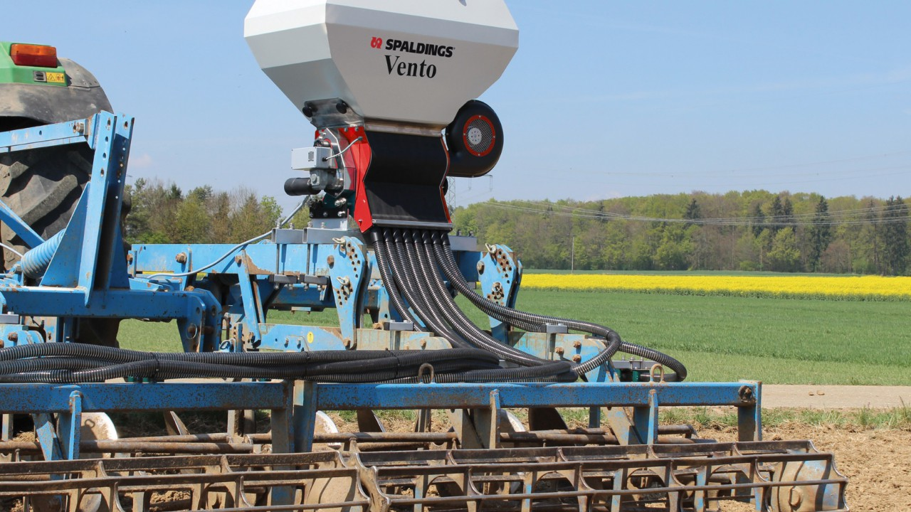 New electric-drive air seeder launched by Spaldings