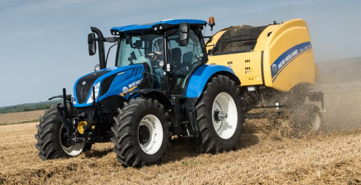 New dual-clutch, 8-speed powershift from New Holland