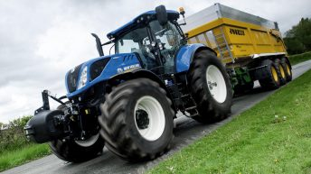 Package of upgrades for 'Long Wheelbase' T7 tractors