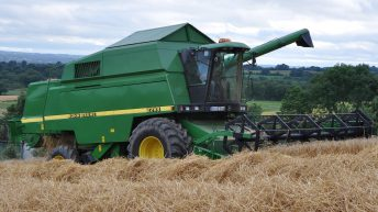 Early harvest reports as small amount of winter barley cut