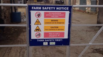 500 farm inspections in November to focus on safety while working at heights