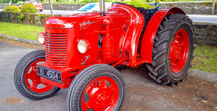 Pics: Keen interest in classic and vintage tractors across the country