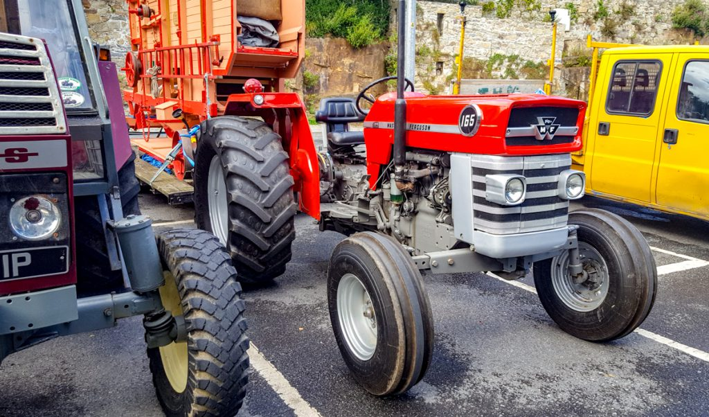 Kilkenny tractor road run