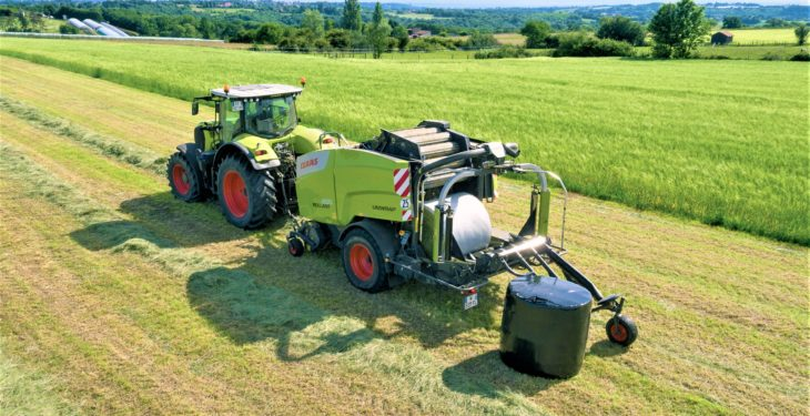 It's a wrap: Claas joins the 'film instead of net' movement