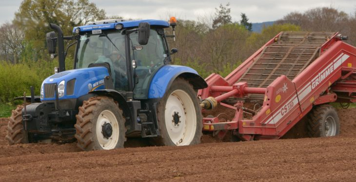 Used (imported) tractor registrations on the up as new tractor figures drop