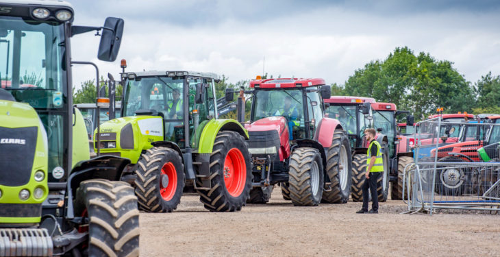 Auction report: Tractor pics and prices from the 'monster' Cambridge sale