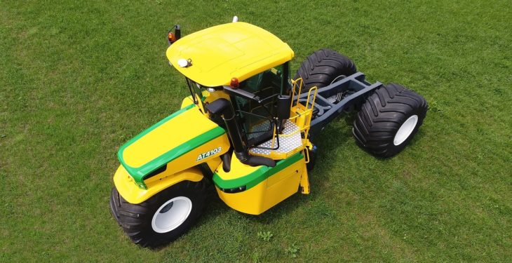 A tractor with a difference: Check out this three-wheeled 'trike'