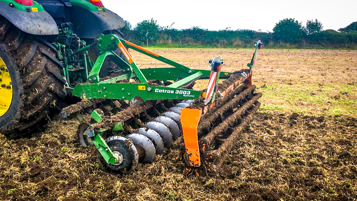 Farmhand: 'Why not go straight into stubble with these new discs?'