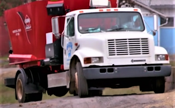 Video: Watch this manure-powered feed lorry in action