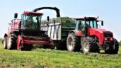 Pics: 'Unusual' forage harvester from the 'east' struts its stuff