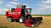 Pics: First combine in the world to run on natural gas