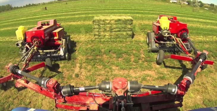 Work twice as hard…with half the tractors