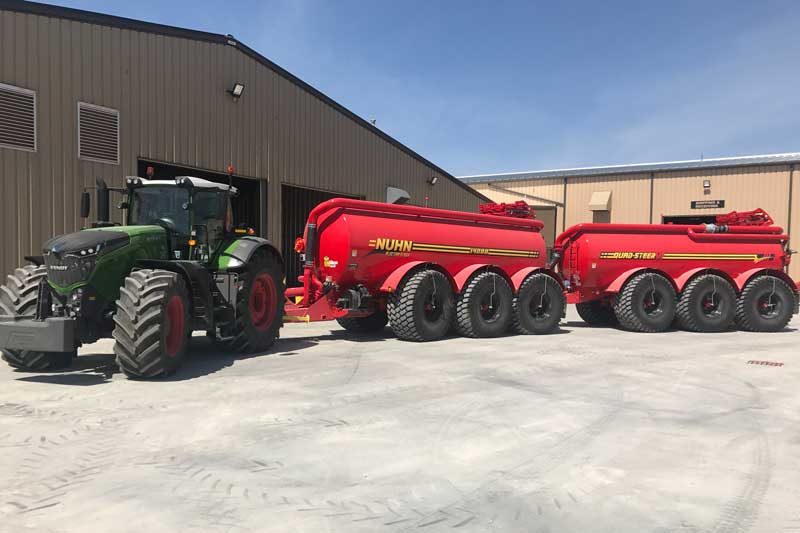 Hooking up a slurry 'road-train': When one tanker just isn't enough