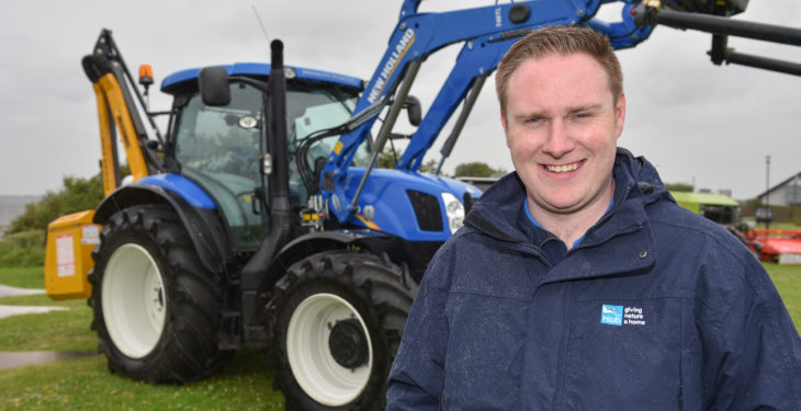 Newly-appointed conservation advisor leads east Down farming project