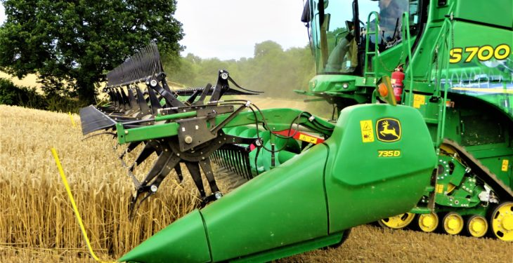 John Deere's 'smart' combine wins 'Grand Prix'