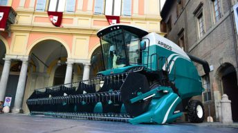 Check out this 'Chinese' combine, with an Italian twist