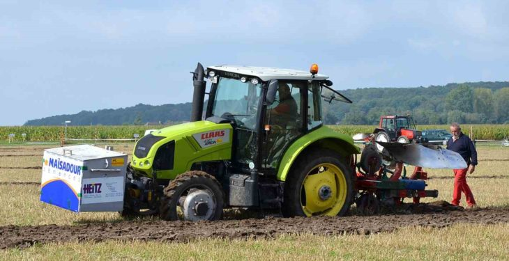 Irish team 'shines' at European ploughing championships