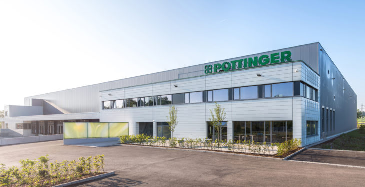 Pottinger unveils €14 million spare parts logistics centre