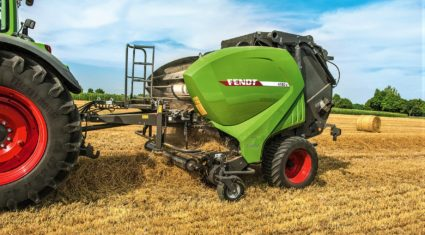 Updated: Fendt unveils 'green' Welger balers and Lely Tigo wagons