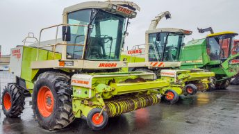 Combine and forager prices: Results from unreserved FTMTA auction