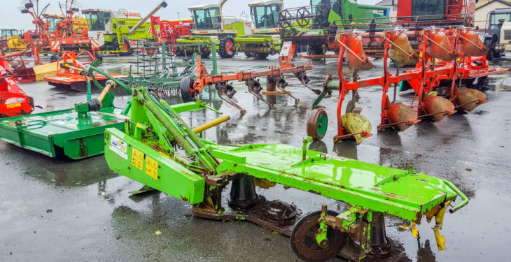 Pics: Machinery moves into place for Saturday's massive 'no reserve' auction
