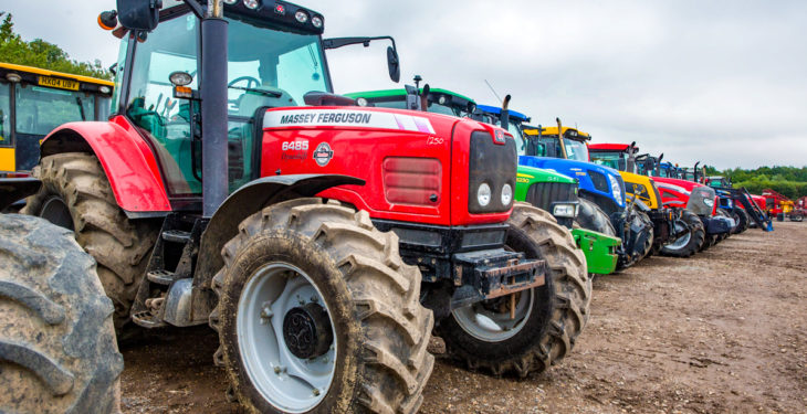 Auction report: Pics and prices from 'monster' Cambridge tractor sale