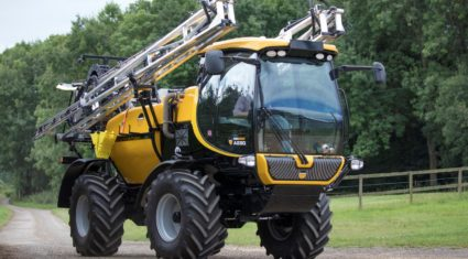 McConnel launches first ever self-propelled sprayer…at the 'Ploughing'