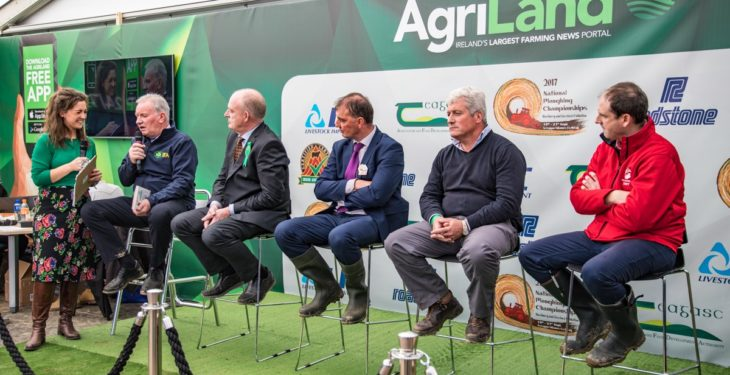 Young farmers, sports stars and more on 'Ploughing live stream'