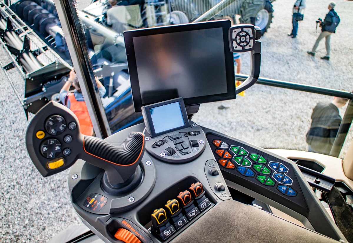 Inside Of A Combine : Is agco s latest creation the ideal combine harvester