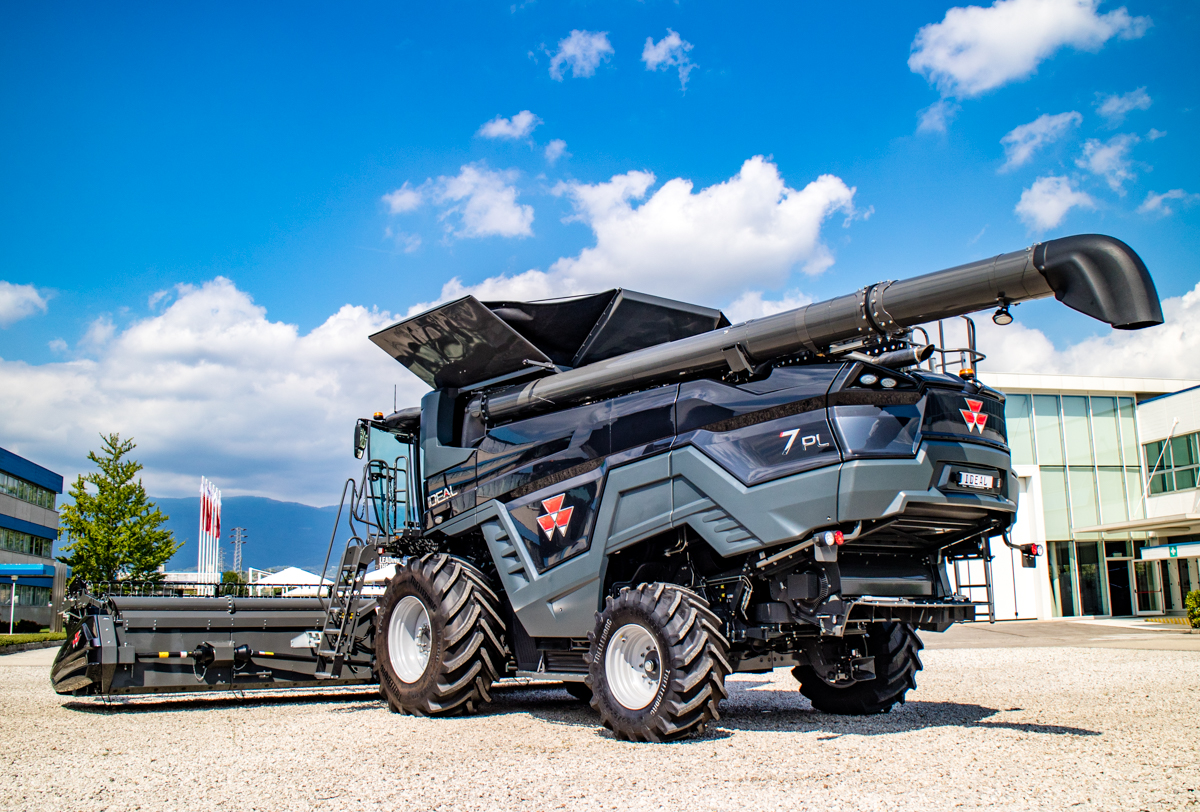 Is AGCO's latest creation the 'Ideal' combine harvester
