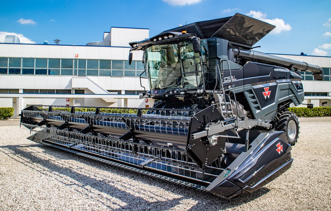 Is AGCO's latest creation the 'Ideal' combine harvester?