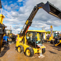 'Pint-sized' telescopic skid-steer launched by JCB at the 'Ploughing'