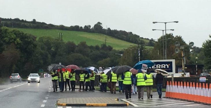Strike action underway at Kerry Group plant in Listowel