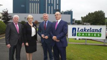 Lakeland Dairies unveils 'one of Europe's largest milk powder plants'