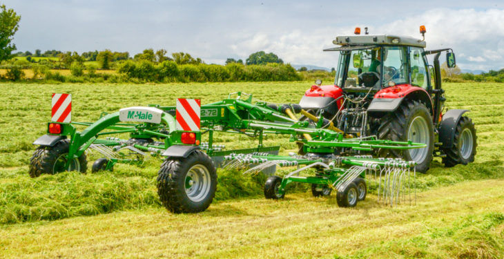 Big outing for McHale's new rake at next month's 'Grass & Muck'