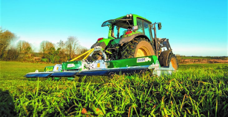 'Award-winning' Cyclone mower cuts a path to the 'Ploughing'