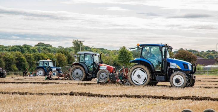 Results from day 1 of the 'Ploughing'