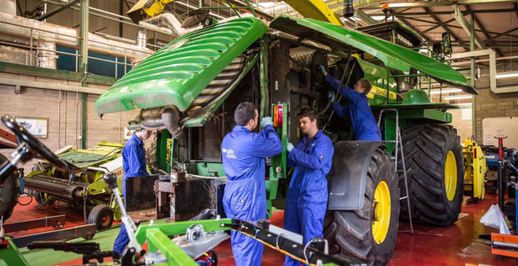 €400,000 boost for agri mechanisation course