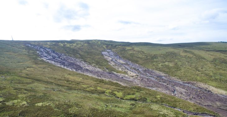 'Force Majeure' excuse to be discussed at Sperrins landslide meeting