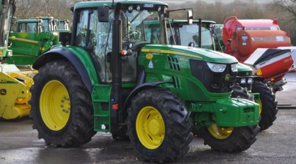 Tractor sales finally on the rise but overall figures 'low'