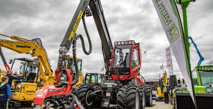 New Komatsu timber harvester set to 'fell' all in its path
