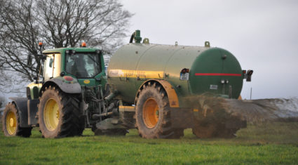 92% of farmers in favour of extension to the slurry spreading deadline