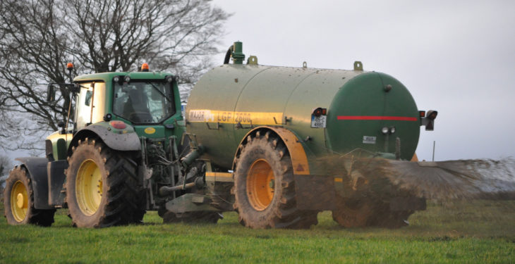 Slurry ban set to be lifted for parts of the country tomorrow