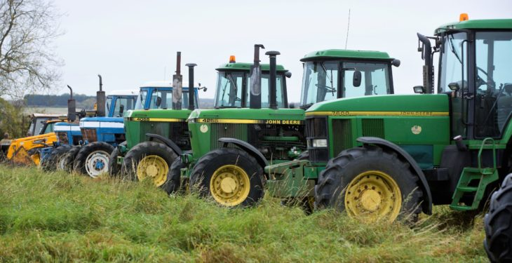 Auction report: Pics and prices from major on-site tractor and machinery sale