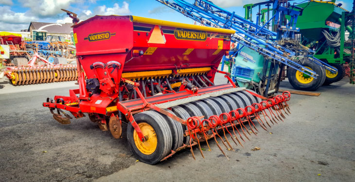 FTMTA auction: Ploughs, harrows and drill prices revealed